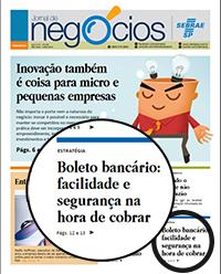 BoletoFast destaque jornal do SEBRAE
